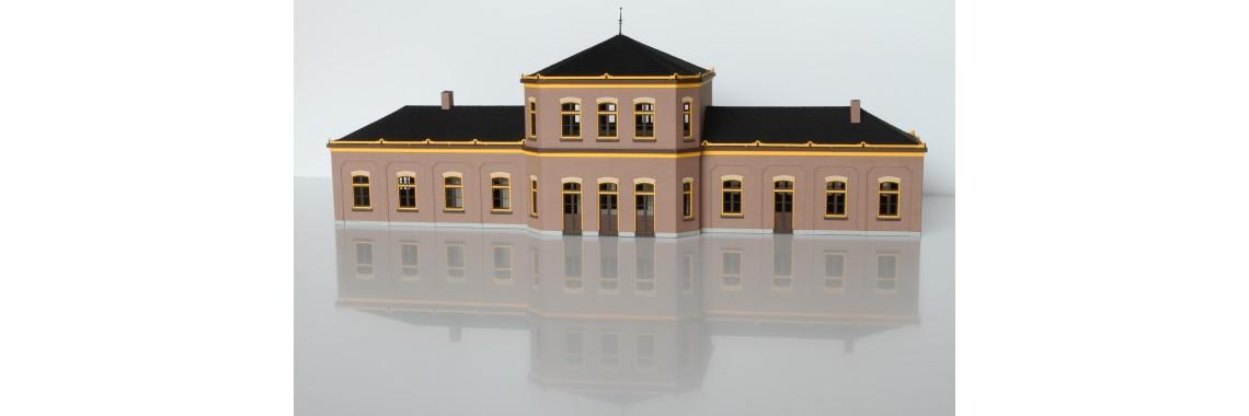 Station Staatsspoorwegen 3e Klasse