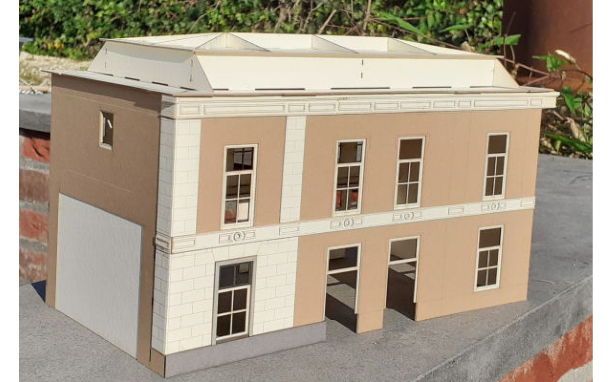Verrassingsmodel: Station Apeldoorn in model